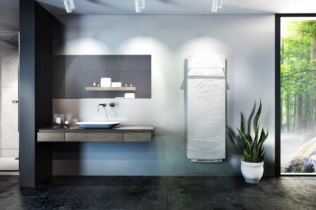 Heating your bathroom quickly: New option - Hot Air Blowing 1000 W