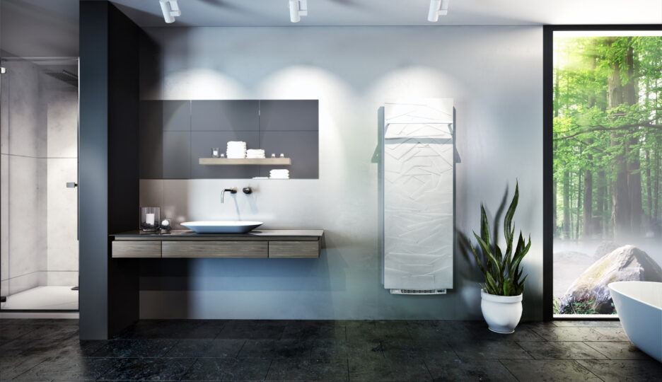 Heating your bathroom quickly: New option Blowing 1000 W