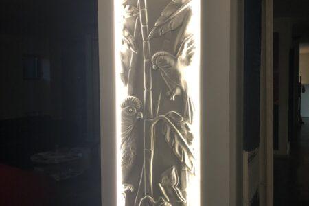 Cadre vertical LED